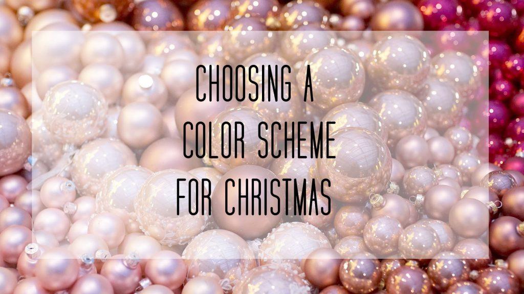 Christmas Picture Color Schemes.Color Schemes For Christmas Decorating Dramatix Decor